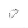 Плинтус потолочный гладкий DECOMASTER 96261 (80x82x2400мм)