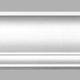 Плинтус потолочный гладкий DECOMASTER 96267 (150х152х2400мм)