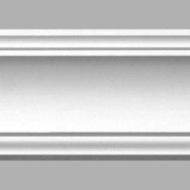 Плинтус потолочный гладкий DECOMASTER 96270 (115х95х2400мм)
