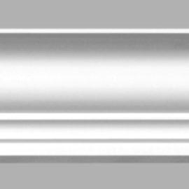 Плинтус потолочный гладкий DECOMASTER 96271 (135х142х2400мм)