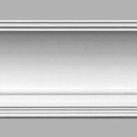 Плинтус потолочный гладкий DECOMASTER 96273 (155х148х2400мм)
