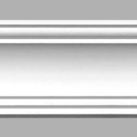 Плинтус потолочный гладкий DECOMASTER 96275 (140х142х2400мм)