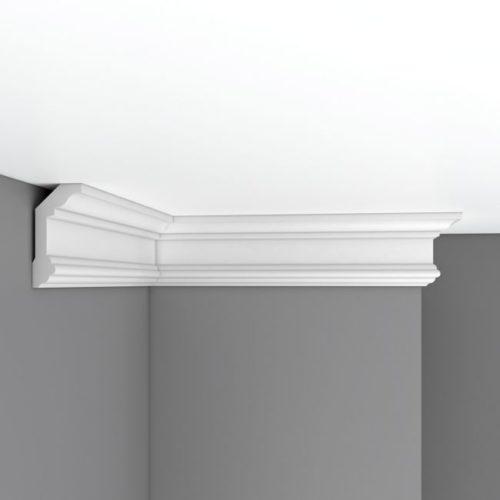 Плинтус потолочный гладкий DECOMASTER 96321 (100*50*2400мм)