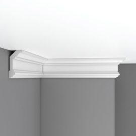 Плинтус потолочный гладкий DECOMASTER 96321F гибкий (100*50*2400мм)