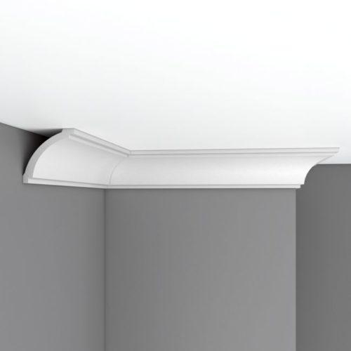 Плинтус потолочный гладкий DECOMASTER 96616 (74*74*2400мм)