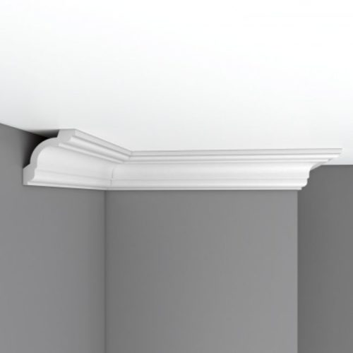 Плинтус потолочный гладкий DECOMASTER 96630 (75*75*2400мм)