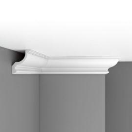 Плинтус потолочный гладкий DECOMASTER 96901 (150*120*2400мм)