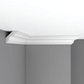 Плинтус потолочный гладкий DECOMASTER DP339A (75х70х2400)