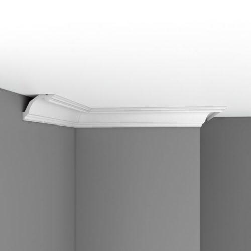 Плинтус потолочный гладкий DECOMASTER DP353 (113*73*2400мм)