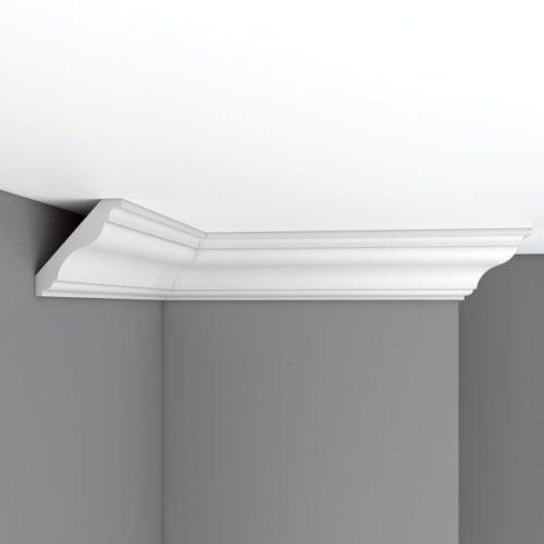 Плинтус потолочный гладкий DECOMASTER DP357 (85*80*2400мм)